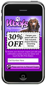 Mobile Landing Page Example by Most Pixels Mobile Marketing - Woofs Pixel Mobile, Mobile App, Mobile Landing Page, Landing Page Examples, Mobile Web Design, Mobile Marketing, Lead Generation, Website, Gallery