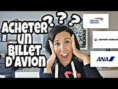 Acheter un billet d'avion [japon] - YouTube Ticket, Travel