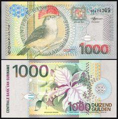 Suriname 1,000 Gulden, 2000