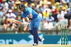 Virat Kohli started off with a flurry of boundaries as Australia erred by bowling too full to him.