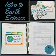 New to Science InteractiveNotebooks? Try this FREE first chapter of The Earth Science Interactive Notebook series: Intro to Earth Science. Click on the link in my bio to download.