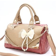 imitation leather Bag mouth:32CM, 36CM*23CM*12CM elegant and sweet
