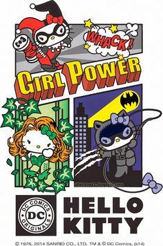 Hello Kitty x DC Comics