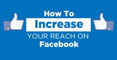 Find out how I'm reaching more people on my Facebook page