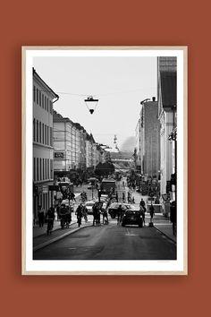 Tambur Gallery | Götgatan 50x70cm | TAMBURSTORE.SE Stockholm, Polaroid Film, Fine Art, Gallery, Prints, Tela, Printed, Art Print, Visual Arts