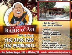 ÁJAX - NOTÍCIAS: RESTAURANTE NA ORLA DE RIFAINA - SP