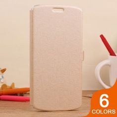 Casual Style Silk Pattern Leather Flip Case for iPhone 6: $7.99