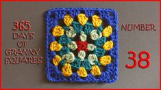 365 Days of Granny Squares Number 38