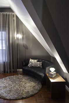 Detached house, interior design. Omakotitalo, sisustussuunnittelu. Egnahemshus, inredningsdesign.
