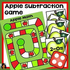 Apple Unit Bundle includes the history of Johnny Appleseed with a printable book, addition, subtraction games, and subitizing with apples! Reading Stations, Math Stations, First Grade Classroom, First Grade Math, Writing Activities, Classroom Activities, Johnny Appleseed Song, Easy Word Search, Robin Wilson