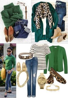 Fashion Capsule, Fall Fashion Outfits, Preppy Outfits, Mode Outfits, Women's Fashion Dresses, Autumn Fashion, Green Cardigan Outfit, Stylish Outfits For Women Over 50, Black Women Fashion