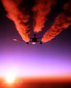aircraft contrails - Bing Images  DC10