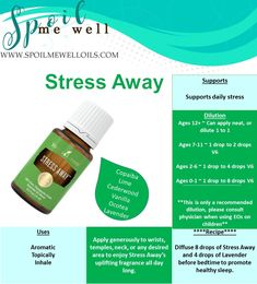 Stress Away Essential Oil, Young Living, favorite oil, dilution ratios, how to use Stress Away, essential oil dilution, natural stress relief, essential oil for stress