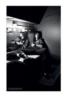 Darren McDonald Captures An Homage to Patti Smith for Helmet Magazine #3