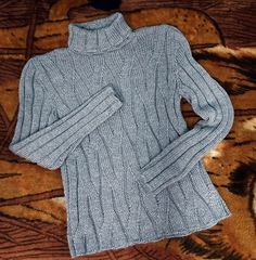Ravelry: Liliwinter's Modell 116/8 Herrenpullover mit Rollrand from Lilia