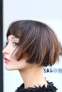 Looking for the best way to bob hairstyles 2019 to get new bob look hair ? It's a great idea to have bob hairstyle for women and girls who have hairstyle way. You can get adorable and stunning look with… Continue Reading → Short Bobs With Bangs, Short Layered Haircuts, Haircuts With Bangs, Cute Hairstyles For Short Hair, Hairstyles Haircuts, Down Hairstyles, Short Hair Cuts, Short Hair Styles, Super Short Bobs