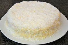 Palavras que enchem a barriga: Bolo de coco (O bolo, finalmente!) :D