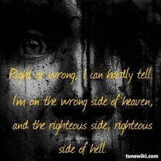 Lyric Art Of Wrong Side Of Heaven By Five Finger Punch Love This Song