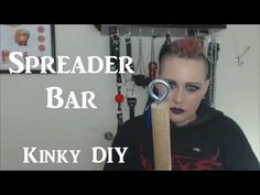 Easy to Make Spreader Bar Tutorial - Kinky DIY BDSM Toys How-to #3 - YouTube