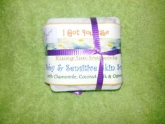I Got you Babe - Baby and Sensitive Skin Soap. Natural Hand-crafted Soap, Vegan, Organic and Gluten Free. Visit Link for more details I Got You Babe, You Got This, Soap For Sensitive Skin, Home Crafts, Gluten Free, Organic, Vegan, Detail, Natural