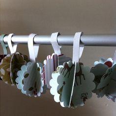 Paper ornaments DIY