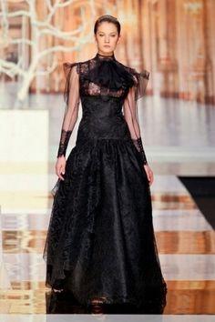 Barcelona Black Wedding Dress