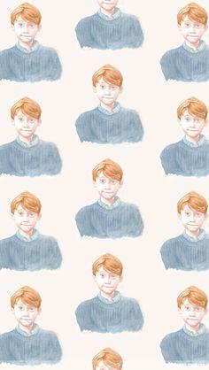 Ron Weasley iPhone wallpaper