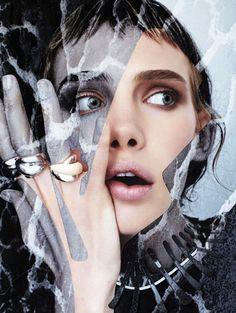 Mood Match: #MarnieHarris by #DamienBlottiere for #VogueItalia Gioiello (Bijoux) September 2013