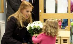 Princess Beatrice visits Royal Hospital for Sick Children in Edinburgh