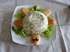 Tortuga rellena de ensaladilla rusa - Las Recetas de Guada Relleno, Olivier Salad, Salads, Sweet Treats, Recipes, Turtles, Pies