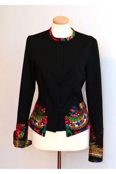 Ethnic Fashion, Diy Fashion, Fashion Outfits, Womens Fashion, Fashion Design, Mode Russe, Coats For Women, Clothes For Women, Mode Hijab