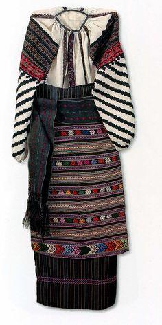 Комплект народного одягу західного Поділля. Початок XX ст