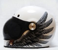 Black Wing Racer from izzyryder Motorcycle Helmet Camera, Custom Motorcycle Helmets, Custom Helmets, Racing Helmets, Motorcycle Art, Harley Davidson Motorcycles, Cars And Motorcycles, Cool Bike Helmets, Motorbike Accessories