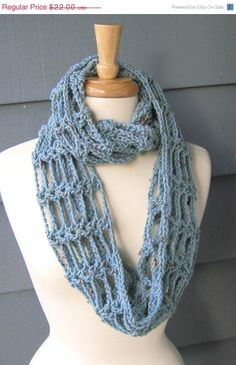 SALE  RTS / TONI Infinity Scarf Cowl Neckwarmer by by ArtsyCrochet, $14.74
