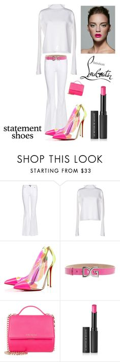 """""""Spring Statement Heels"""" by kotnourka ❤ liked on Polyvore featuring Tom Ford, Dorothee Schumacher, Christian Louboutin, Dolce&Gabbana, Givenchy and Le Métier de Beauté"""