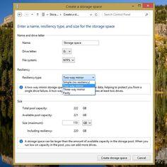 setting up raid within windows software
