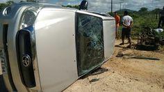 NONATO NOTÍCIAS: Veículos colidem em estrada vicinal do Projeto de ...