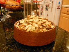 Sweet and Salty Pumpkin Seeds