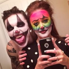 Halloween Makeup Clown Face