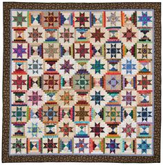 Wouldn't it be nice if every quilt pattern had directions for lap, twin, queen, and king sizes? Sally Schneider's latest book does. Come see her amazing scrap quilts and learn more—no number crunching required.