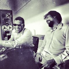 Throwback Thursday........Ray Charles & Quincy Jones #q #ray #tbt #bestfriends - @Greg Terrell- #webstagram