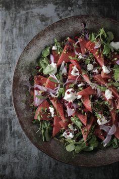 Persian Watermelon Salad : The Healthy Chef – Teresa Cutter