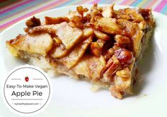 Easy-to-make vegan apple pie recipe for people who can't cook  #applepie #pie #veganpie #veganpiecrust #veganapplepie #vegandessert #vaganbaking #veganrecipe #letscookvegan #recipesforbeginners #desserts #ig_desserts #dessertrecipe #dessertslovers #glutenfree #dairyfree #foodies #foodblog #foodblogger #tasty #delicious #healthydessert #healthylifestyle #healthyfood #sweets #fruits #apples