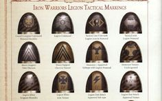 Iron warriors tactical markings