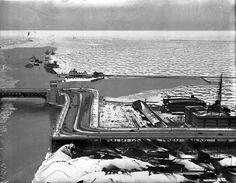 "1937 - The Lake Shore Drive ""S"" curve."