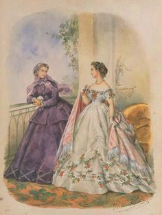 La Mode Illustrée, 1865