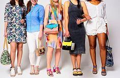 Mama tassen. Grappige zomertassen die ook nog eens matchen met je schoenen.  Fotografie Mark Groeneveld | Styling Jasmijn Braber | Visagie Marja Hermes  #kekmamamagazine #kekmama #tassen #fashion #mode #inspiratie #kekmama8