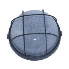 Whitfield Lighting 10-In W Black Outdoor Flush-Mount Light Owl2070l-Bl