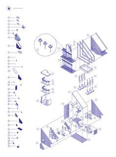 Archidose — Telegraph Hill Community Farm, Bartlett 2011/12 ... Architecture Concept Diagram, Architecture Presentation Board, Architecture Graphics, Architecture Board, Architecture Portfolio, Architecture Drawings, School Architecture, Architecture Details, Architecture Diagrams