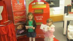 Can't wait to take the girls to Macy's to drop off their letters to Santa.